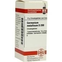 GERMANIUM METALLICUM D200, 10 G, Dhu-Arzneimittel GmbH & Co. KG