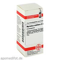 MYRISTICA SEBIFERA D 3, 10 G, Dhu-Arzneimittel GmbH & Co. KG