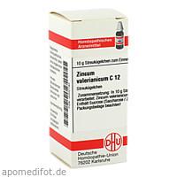 ZINCUM VALERIANICUM C12, 10 G, Dhu-Arzneimittel GmbH & Co. KG