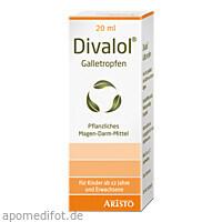 Divalol Galletropfen, 20 ML, Aristo Pharma GmbH
