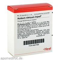 ACIDUM NITR INJ, 10 ST, Biologische Heilmittel Heel GmbH