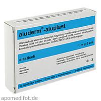 Aluderm Aluplast Wundverb Pflast elast 1mx6cm, 1 ST, W.Söhngen GmbH