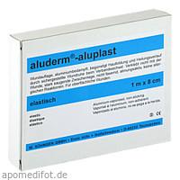 Aluderm Aluplast Wundverb Pflast elast 1mx8cm, 1 ST, W.Söhngen GmbH