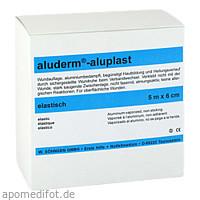 Aluderm Aluplast Wundverb Pflast elast 5mx6cm, 1 ST, W.Söhngen GmbH