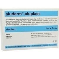 Aluderm Aluplast Wundverb Pflast stabil 1mx6cm, 1 ST, W.Söhngen GmbH