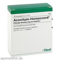 ACONITUM HOMACCORD, 10 ST, Biologische Heilmittel Heel GmbH