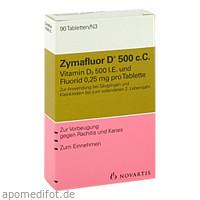 Zymafluor D 500 c.C., 90 ST, Meda Pharma GmbH & Co. KG