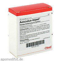 AESCULUS INJ, 10 ST, Biologische Heilmittel Heel GmbH