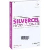 SILVERCEL Hydroalginat Verband 5x5cm, 10 ST, Kci Medizinprodukte GmbH