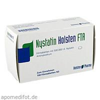 Nystatin Holsten FTA, 100 ST, Holsten Pharma GmbH