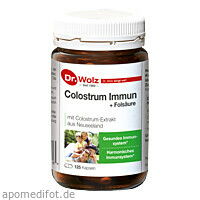 Colostrum Immun Dr. Wolz, 125 ST, Dr. Wolz Zell GmbH