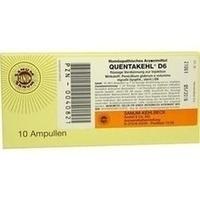 QUENTAKEHL D 6 Injektion, 10X1 ML, Sanum-Kehlbeck GmbH & Co. KG