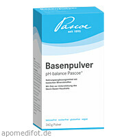 Basenpulver Pascoe, 260 G, Pascoe Vital GmbH