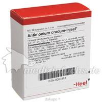 ANTIMONIUM CRUD INJ, 10 ST, Biologische Heilmittel Heel GmbH