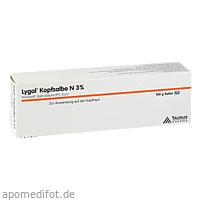 LYGAL KOPFSALBE N, 100 G, Almirall Hermal GmbH