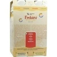 Frebini energy DRINK Erdbeere Trinkflasche, 4X200 ML, Fresenius Kabi Deutschland GmbH