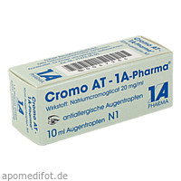 Cromo AT-1A-Pharma, 10 ML, 1 A Pharma GmbH