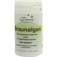Braunalgenkapseln, 60 ST, G & M Naturwaren Import GmbH & Co. KG