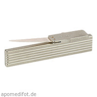 Zahnstocher Silberblatt flach, 1 ST, Büttner-Frank GmbH