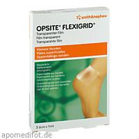OpSite Flexigrid 6x7cm transp. wasserd. Verb. ster, 5 ST, Smith & Nephew GmbH