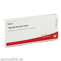 Skorodit Kreislauf Inject, 10X1 ML, Wala Heilmittel GmbH