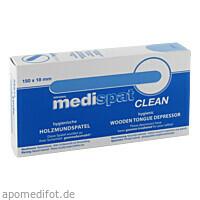 Holzmundspatel Medispat Clean, 50 ST, Diaprax GmbH