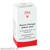 Bronchi Plantago Globuli velati, 20 G, Wala Heilmittel GmbH