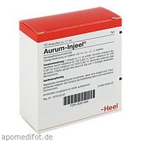 AURUM INJ, 10 ST, Biologische Heilmittel Heel GmbH