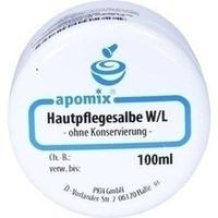 HAUTPFLEGESALBE W/L o.Konservierung, 100 ML, apomix PKH Pharmazeutisches Labor GmbH
