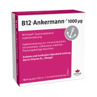 B12 ANKERMANN 1000UG, 10X1 ML, Wörwag Pharma GmbH & Co. KG