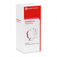 Cetirizin AL 1mg/ml Sirup, 2X75 ML, Aliud Pharma GmbH