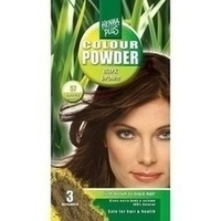 Hennaplus Colour Powder Dark Brown 57, 100 G, Frenchtop Natural Care Products B.V