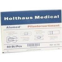 Pflastersortiment Alumed, 50 ST, Holthaus Medical GmbH & Co. KG