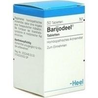 BARIJODEEL, 50 ST, Biologische Heilmittel Heel GmbH
