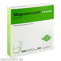 Magnesiocard 7.5 mmol, 100 ST, Verla-Pharm Arzneimittel GmbH & Co. KG