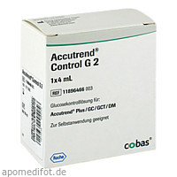 ACCUTREND CONTROL GLUCOSE, 1X4 ML, Roche Diagnostics Deutschland GmbH