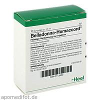 BELLADONNA HOMACCORD, 10 ST, Biologische Heilmittel Heel GmbH