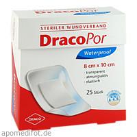 Dracopor Waterproof Wundverband steril 8cmx10cm, 25 ST, Dr. Ausbüttel & Co. GmbH