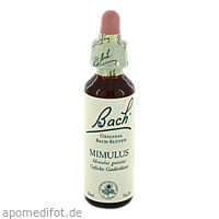 Bach-Blüte Mimulus, 20 ML, Nelsons GmbH