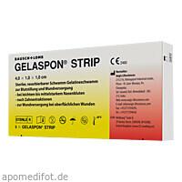 Gelaspon Strip 4x1x1cm, 5 ST, Dr. Gerhard Mann