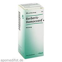 BERBERIS HOMACCORD, 30 ML, Biologische Heilmittel Heel GmbH