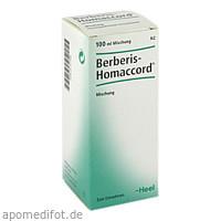 BERBERIS HOMACCORD, 100 ML, Biologische Heilmittel Heel GmbH