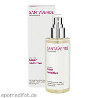 aloe vera toner sensitive, 100 ML, SANTAVERDE GmbH
