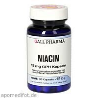 NIACIN 15mg Kapseln, 60 ST, Hecht-Pharma GmbH