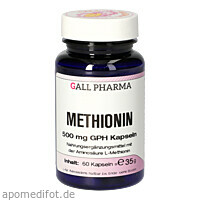 Methionin 500 mg GPH Kapseln, 60 ST, Hecht-Pharma GmbH