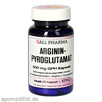 Argininpyroglutamat 500 mg GPH Kapseln, 60 ST, Hecht-Pharma GmbH