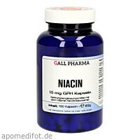 Niacin 15 mg GPH Kapseln, 180 ST, Hecht-Pharma GmbH