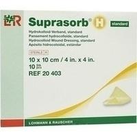 Suprasorb H Hydrokoll.Verb. 10x10cm Standard, 10 ST, Bios Medical Services GmbH