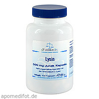 Lysin 500mg Junek Kapseln, 100 ST, Bios Medical Services