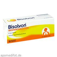BISOLVON HUSTENTABLETTEN, 50 ST, Sanofi-Aventis Deutschland GmbH GB Selbstmedikation /Consumer-Care